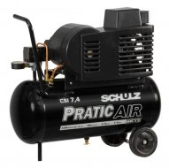 Compressor de Ar CSI 7,4/30 Litros Pratic Air SCHULZ