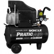 Compressor de Ar Pratic Air Sem Kit CSA 8,2/25LT 2,0HP SCHULZ