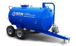 Distribuidor de Adubo Liquido 5000lt Bomba Vacuo TRITON FERTILANCE