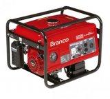 Gerador de Energia a Gasolina BRANCO B4T 2500S Monofásico