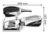 Lixadeira Vibratória GSS 140 BOSCH