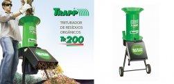 Triturador de Resíduos Orgânicos Elétrico TR 200 - C/ Motor 1,5 cv